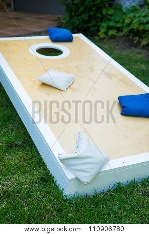 Cornhole Game Board Vertical