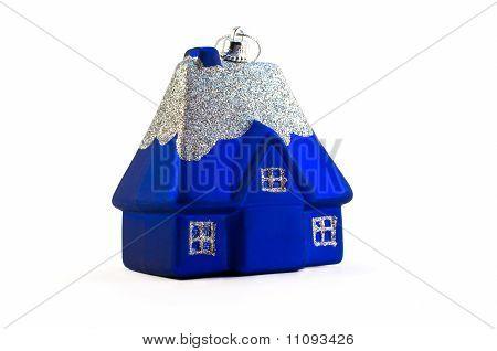 Blue Christmas House