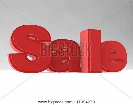 Rendering Of The Word 'sale'