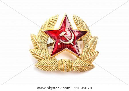 Military Emblem Of The Ussr