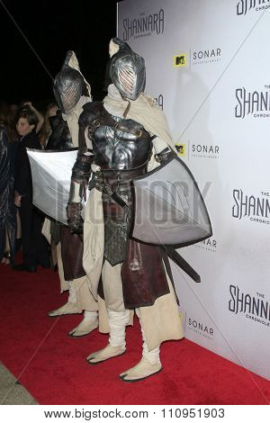 LOS ANGELES - DEC 4:  Atmosphere at the he Shannara Chronicles at the iPic Theaters on December 4, 2015 in Los Angeles, CA