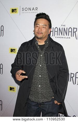 LOS ANGELES - DEC 4:  Roy Choi at the he Shannara Chronicles at the iPic Theaters on December 4, 2015 in Los Angeles, CA