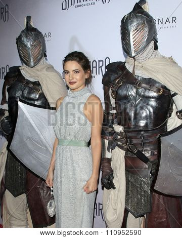 LOS ANGELES - DEC 4:  Ivana Baquero at the he Shannara Chronicles at the iPic Theaters on December 4, 2015 in Los Angeles, CA