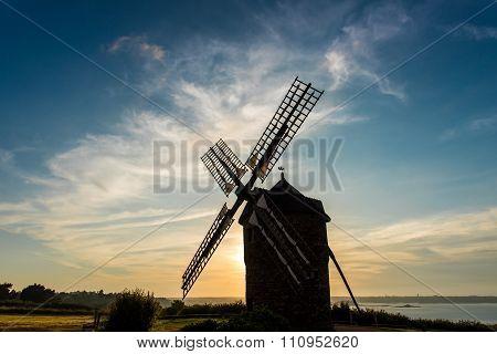 Dol de Bretagne windmill Brittany France