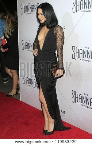 LOS ANGELES - DEC 4:  Vanessa Hudgens at the he Shannara Chronicles at the iPic Theaters on December 4, 2015 in Los Angeles, CA