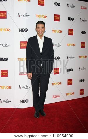 LOS ANGELES - DEC 6:  Raymond Braun at the TrevorLIVE Gala at the Hollywood Palladium on December 6, 2015 in Los Angeles, CA
