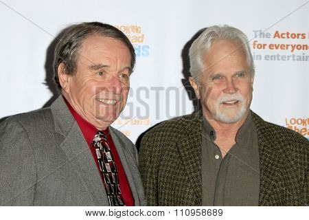 LOS ANGELES - DEC 3:  Jerry Mathers, Tony Dow at the The Actors Fund�¢??s Looking Ahead Awards at the Taglyan Complex on December 3, 2015 in Los Angeles, CA