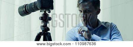 Stalker And Camera