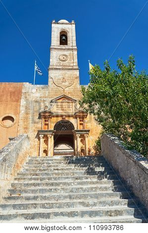 Agia Triada - monastery on the island of Crete