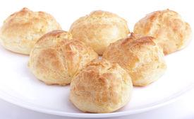 Fresh baked homemade buns