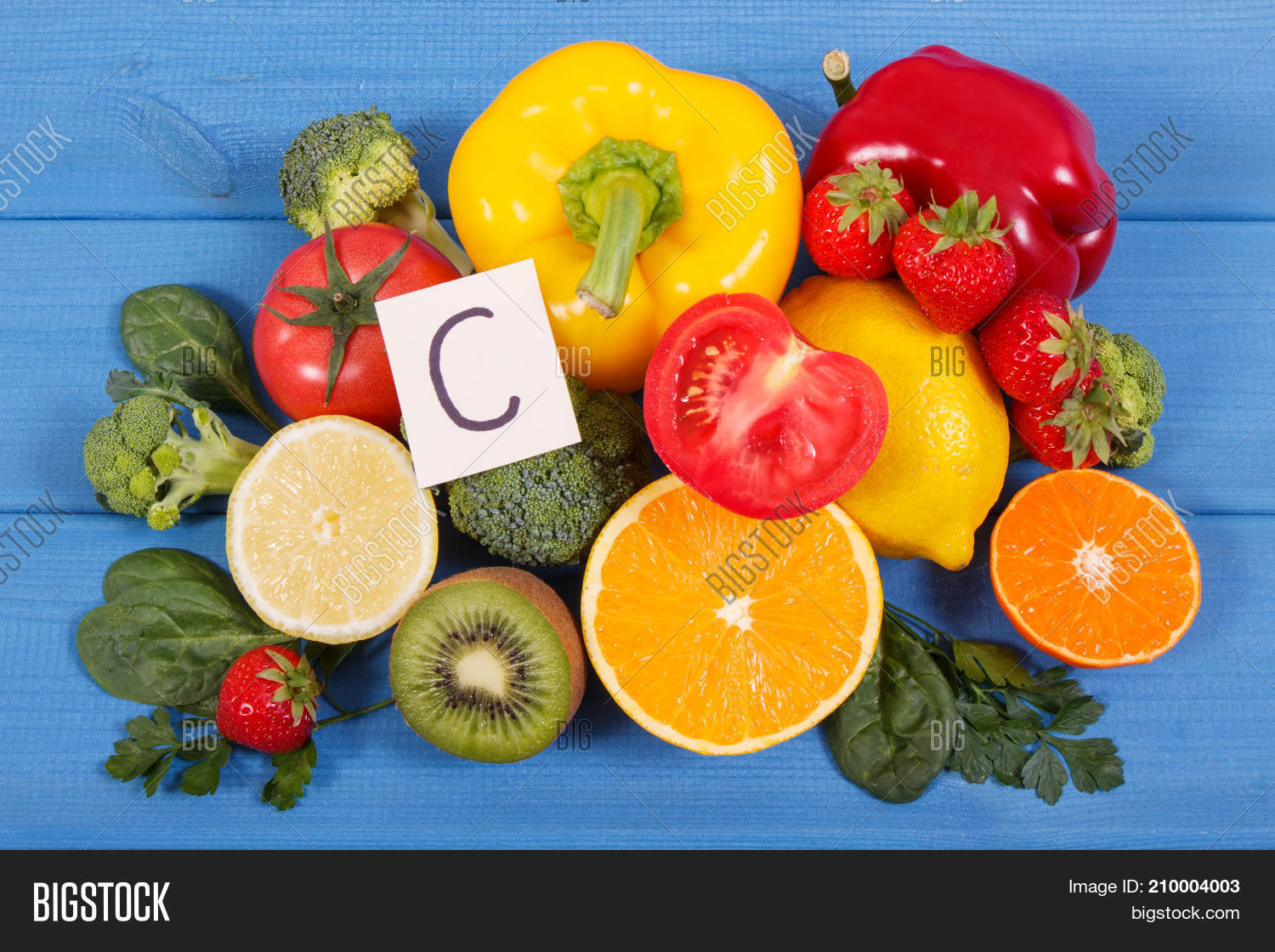 Fruits vegetables sources vitamin c image photo bigstock fruits and vegetables as sources vitamin c dietary fiber and minerals strengthening immunity and workwithnaturefo