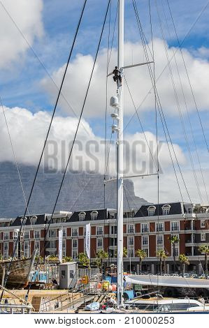 Harbour Of Cape Town, South Africa