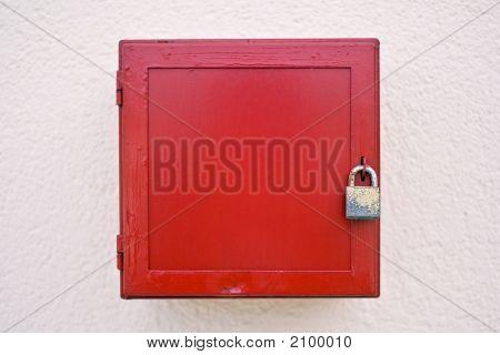 Locked Red Box