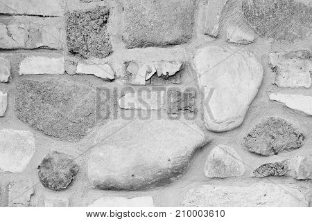 background - wall made of natural stone