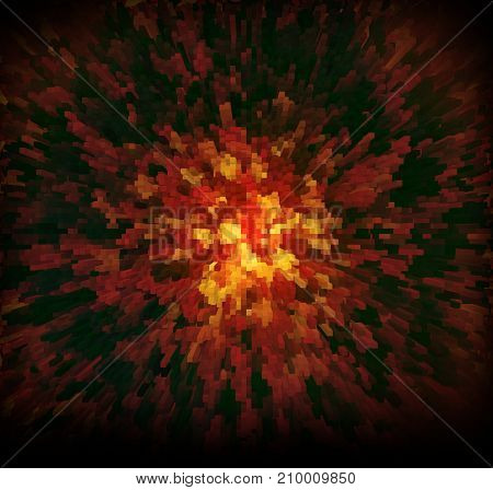 Abstract  Background Techno Graphics