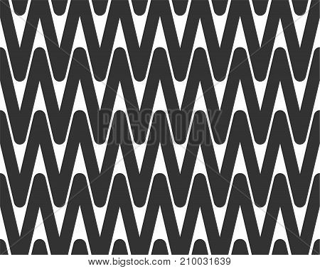 Abstract seamless background design cloth texture with geometric elements. Creative vector endless fabric pattern with line shapes. Simple soft graphic tile images for wallpaper or textile.