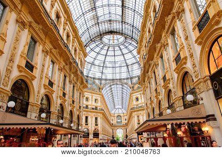Interior Of The  Duomo Di Milano