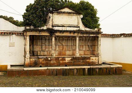 Fonte Grande (large Fountain) At Vila Vicosa
