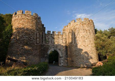 Vila Vicosa Castle Gateway And Canons