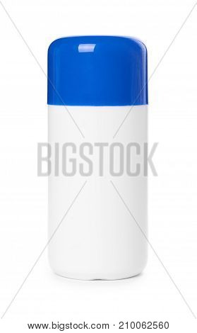 White Medical Container Isolated On White Background