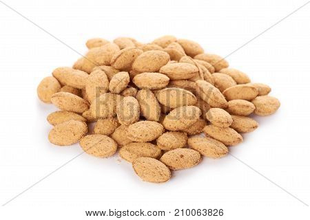 Diet Corn Cookies Isolated On White Background