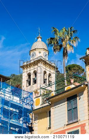 Architecture Of Portofino, Italy