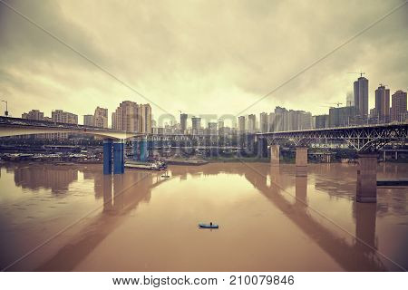 Chongqing Waterfront, China.