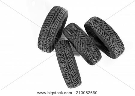 Picture Of A Black Tyre