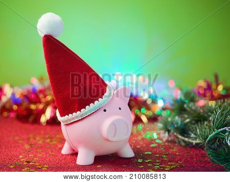 Christmas Savings Concept