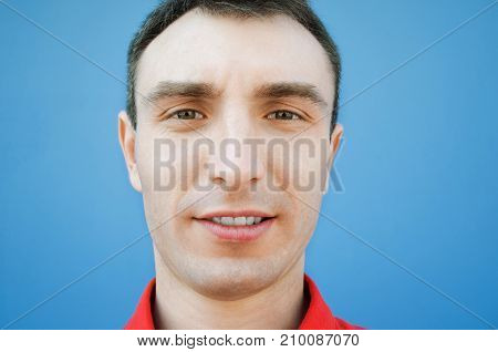 Emotional Portrait Of A Young Man