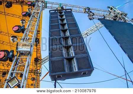 Big Professional Loud Speaker