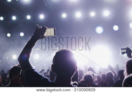 Capture Video At A Concert
