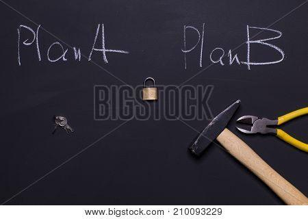 Plan B must solve the problem in a fast way
