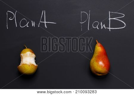 The case where plan B is better than plan A