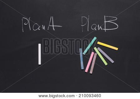 when you must choose a plan A or B