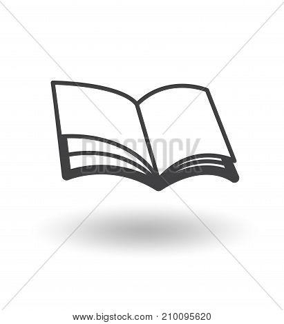 book icon vectoe design cute art illustration