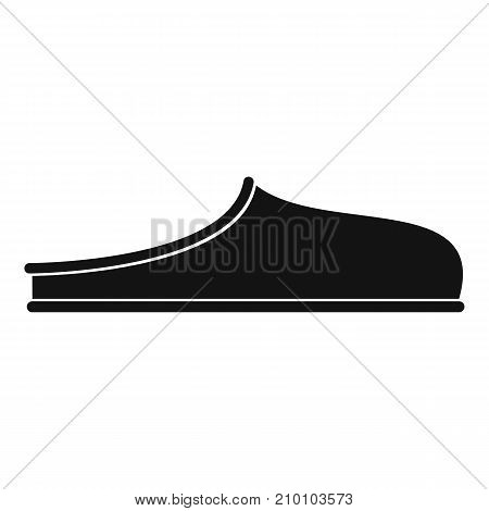 Slippers icon. Simple illustration of slippers vector icon for any web design