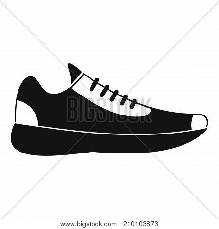 Sneakers icon. Simple illustration of sneakers vector icon for any web design