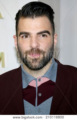 Zachary Quinto at the Hammer Museum Gala In The Garden held at the Hammer Museum in Westwood, USA on October 14, 2017.