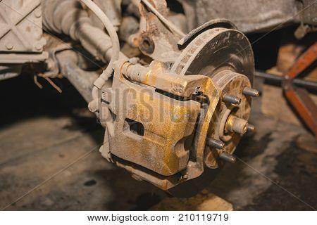 Repair Of A Brake Disk