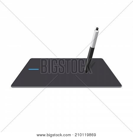 tablet or graphic tablet is a peripheral that allows the user to enter graphics or drawings by hand
