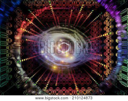 Glow Of Quantum Space