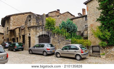 Arhitecture Of Perouges, France