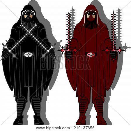 Dark Knight Vector Illustration Clip-art Image Eps