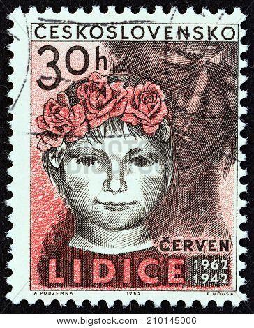 CZECHOSLOVAKIA - CIRCA 1962: A stamp printed in Czechoslovakia from the