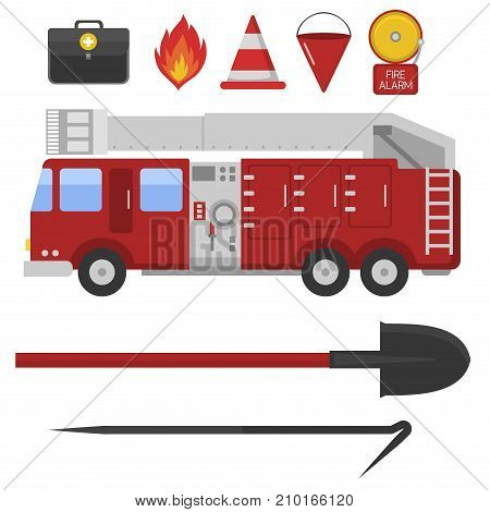 Fire Safety Equipment Vector Photo Free Trial Bigstock