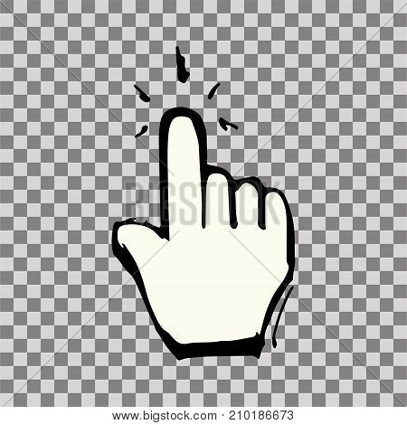 Hand Cursor Arrow