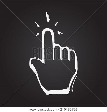 Hand Cursor Arrow