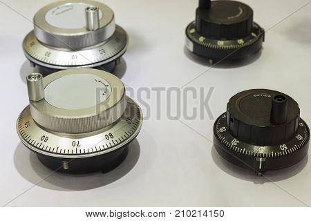 adjustment degree button for CNC machine ; spare parts