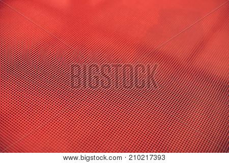 Trampoline Mesh Or Bed - Background Picture To Use As A Texture To Represent Activity, Bounce Or Exe